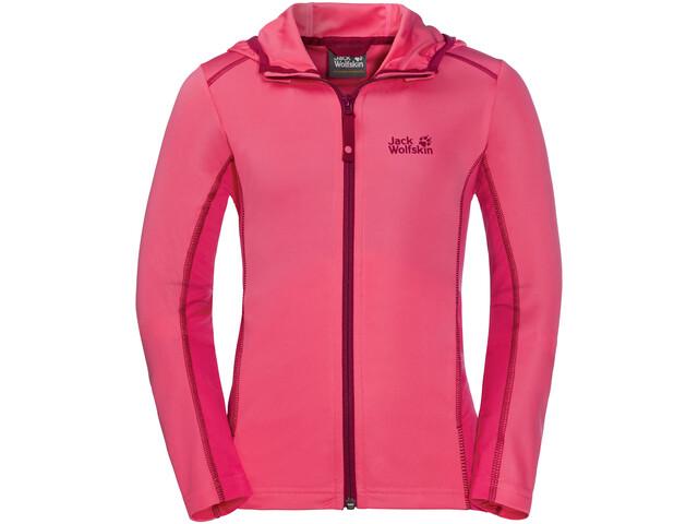 Jack Wolfskin Shoreline Jacket Kinder hot pink